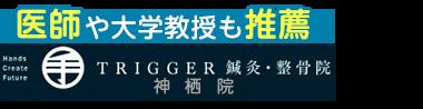 トリガー鍼灸・マッサージ院「鹿島トリガーラボ」鹿嶋市で口コミ評価NO.1 ロゴ
